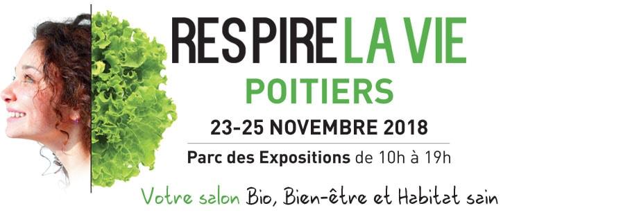 Salon Respire la Vie Poitiers 2018